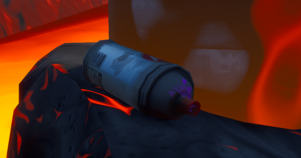 Spray Cans are Found Next to Artwork
