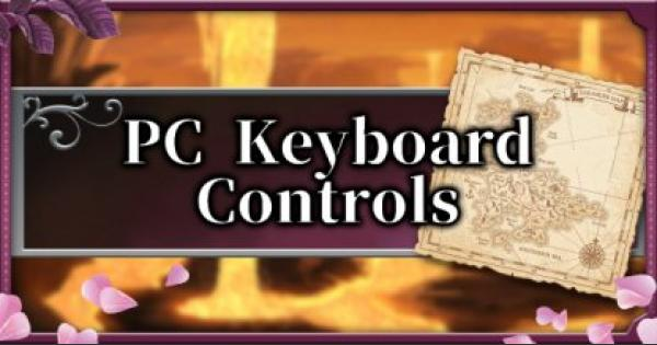 Bloodstained | PC Keyboard Controls - Default Key Bindings Scheme | Ritual of the Night - GameWith