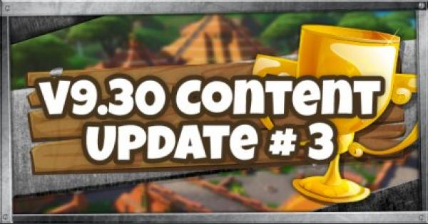 Fortnite | v9.30 Content Update # 3 - July 9, 2019