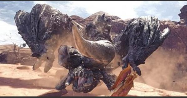 MHW: ICEBORNE | Black Diablos - Spawn / Hunt Location & Weakness Guide
