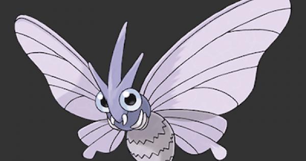 Pokemon Let's Go   Venomoth - Stats, Moves, Evolution & Locations   Pikachu / Eevee - GameWith