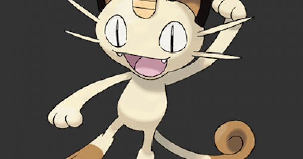Pokemon Let's Go | Meowth - Stats, Moves, Evolution & Locations | Pikachu / Eevee - GameWith