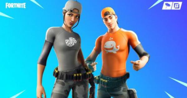 Fortnite | LT. LOGO Skin - Set & Styles - GameWith