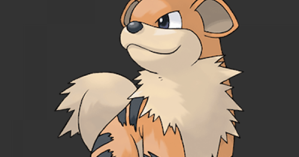 Pokemon Let's Go   Growlithe - Stats, Moves, Evolution & Locations - GameWith