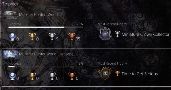 MHW: ICEBORNE | All Trophy & Achievement List - GameWith