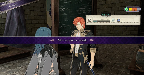 FE3H | How to Increase Motivation | Fire Emblem Three Houses - GameWith