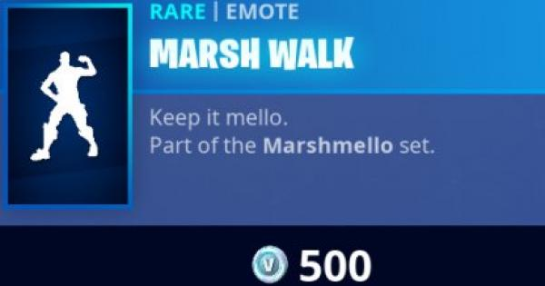 Fortnite | MARSH WALK Emote - How To Get - GameWith