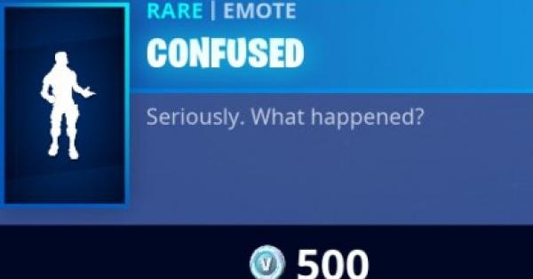 Fortnite | CONFUSED Emote - How To Get - GameWith