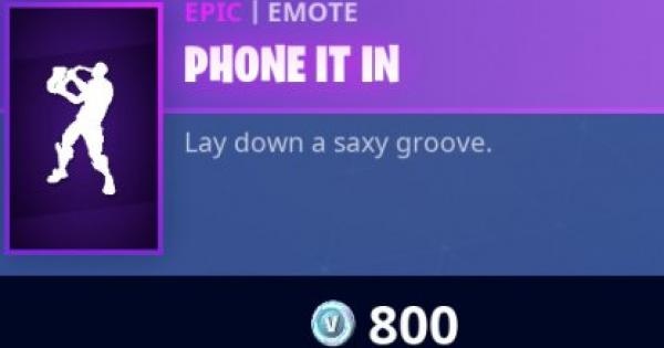 Fortnite | PHONE IT IN Emote - How To Get - GameWith