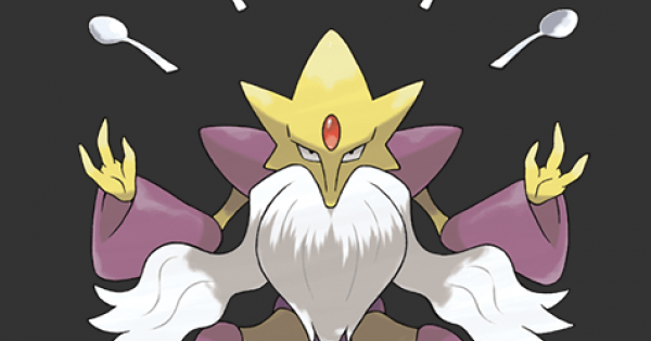 Mega Alakazam - Stats, Moves, Evolution & Locations - Pokemon Let's Go