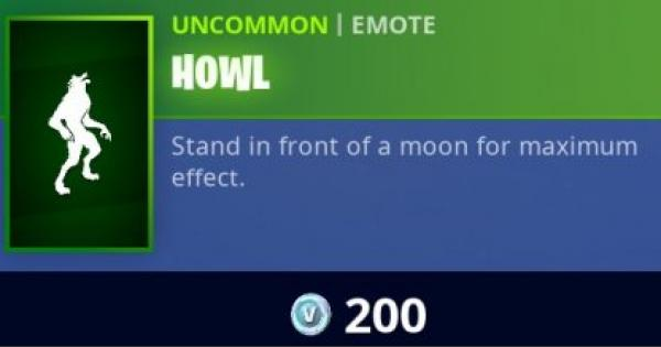 Fortnite | HOWL Emote - How To Get - GameWith