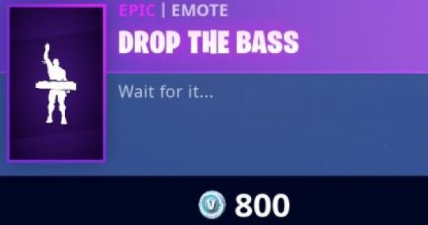 Fortnite | DROP THE BASS Emote - How To Get - GameWith