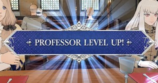 FE Three Houses | How to Increase Professor Level | Fire Emblem
