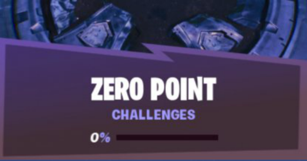 Fortnite | Zero Point Challenge List