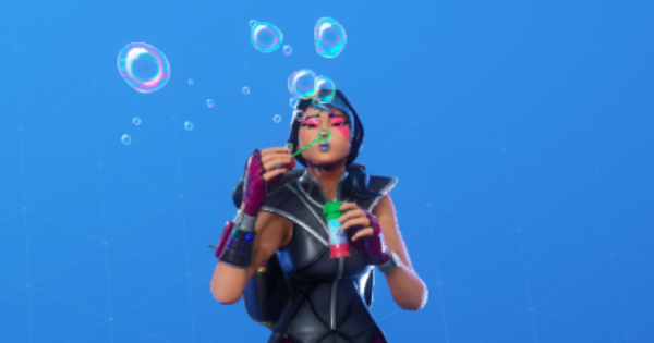 Fortnite | BLOWING BUBBLES Emote - How To Get - GameWith