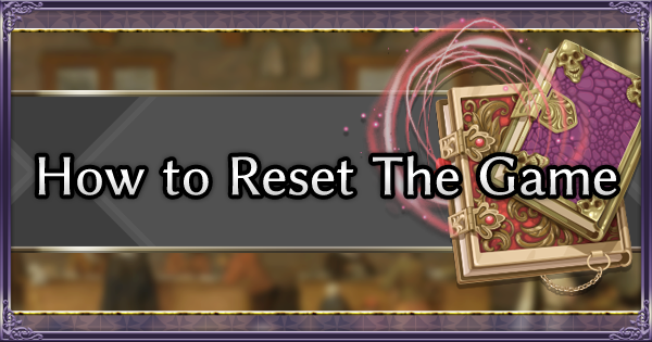 FE Three Houses | How to Reset The Game | Fire Emblem