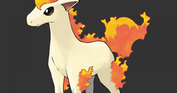 Pokemon Let's Go | Ponyta - Stats, Moves, Evolution & Locations | Pikachu / Eevee - GameWith