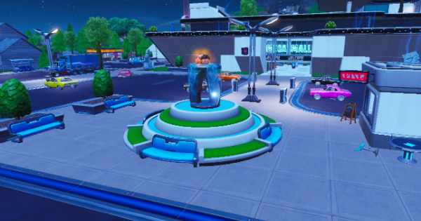 Fortnite | Fountain & Junkyard Crane Locations (Spray & Pray)