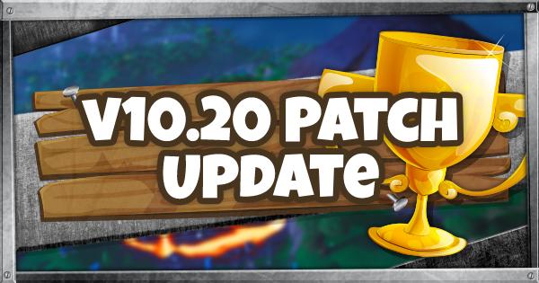 v10.20 Patch Update
