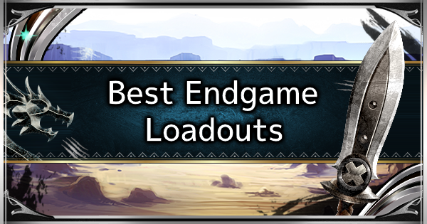 MHW: ICEBORNE | Best Endgame Loadouts - Best Weapons & Armors