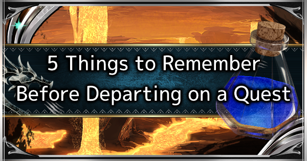 MHW: ICEBORNE | 5 Things to Remember Before Departing for Quests - GameWith