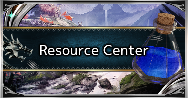 MHW: ICEBORNE | What Is the Resource Center & How to Use It - GameWith