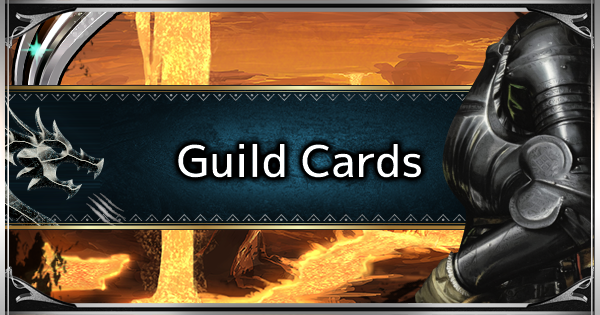 MHW: ICEBORNE | How to Edit & Exchange Guild Cards - GameWith
