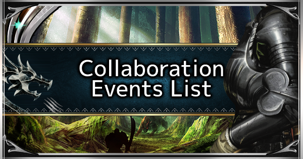 MHW: ICEBORNE | All Collaboration Events & Quests List - GameWith