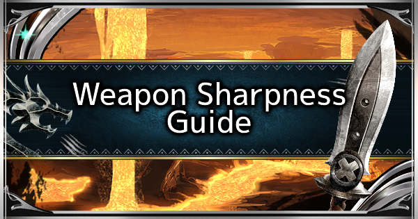 MHW: ICEBORNE | Weapon Sharpness Guide - How To Increase Sharpness - GameWith