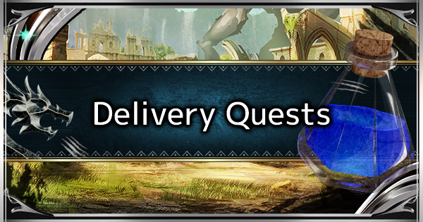 MHW: ICEBORNE | All Delivery Quests List & Rewards - GameWith