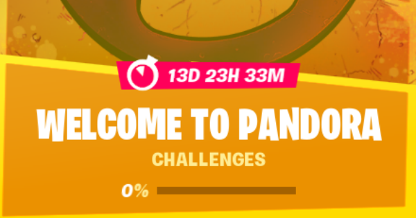Fortnite | Welcome To Pandora Challenges - GameWith