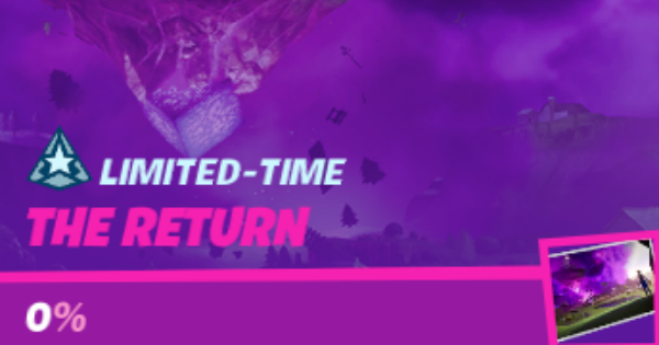 Fortnite | Return Mission List