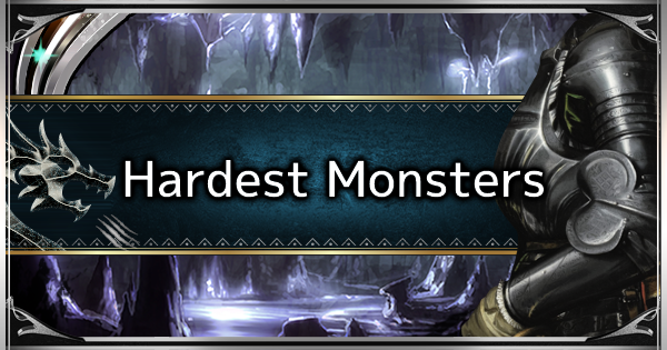 Monster Difficulty Ranking - Hardest Monsters In the Game - MHW: ICEBORNE