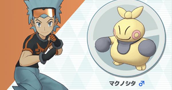 Brawly & Makuhita - Sync Pair Stats & Moves - Pokemon Masters