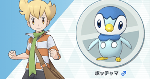 Barry & Piplup