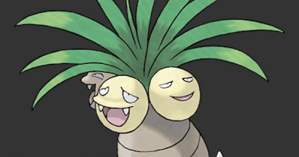 Pokemon Let's Go | Exeggutor - Stats, Moves, Evolution & Locations | Pikachu / Eevee - GameWith
