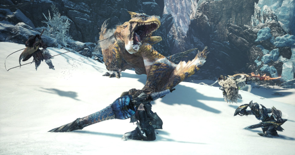 MHW: ICEBORNE | Tigrex - Weakness & Tips - GameWith