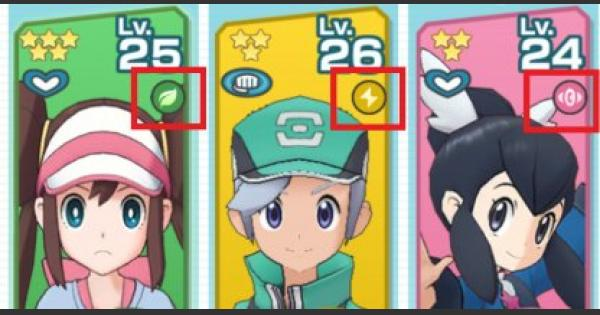 Type And Weakness Explained - Pokemon Masters