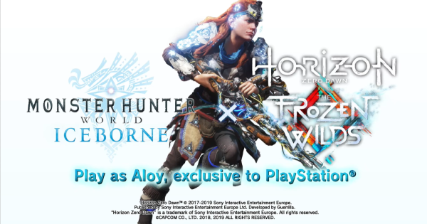 MHW: ICEBORNE | Horizon Zero Dawn: The Frozen Wilds Collaboration - Crossover Event - GameWith
