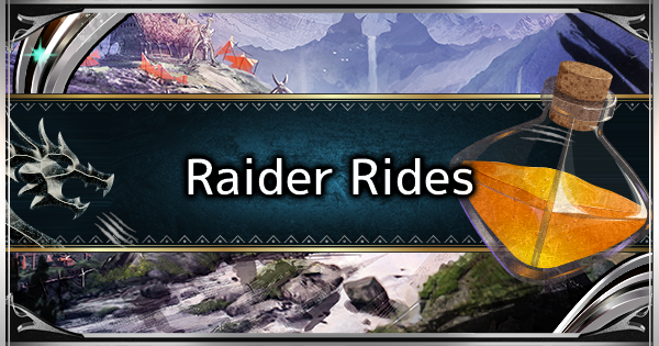 MHW: ICEBORNE | Raider Rides - Features & How to Use - GameWith