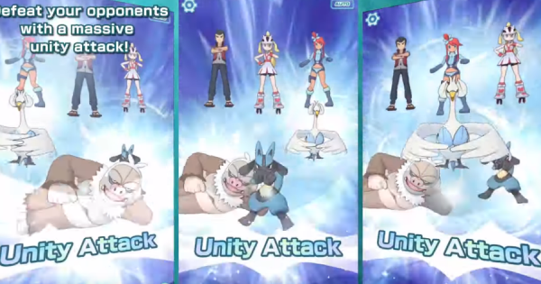 Pokemon Masters | How To Do Unity Attacks - GameWith