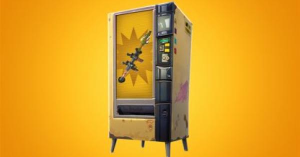 Fortnite | Vending Machine Locations (Blockbuster) - GameWith
