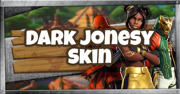 Fortnite | DARK JONESY Skin - Set & Styles - GameWith