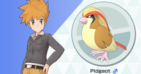 Pokemon Masters | Blue & Pidgeot - Sync Pair Stats & Moves