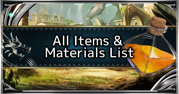 MHW: ICEBORNE | All Material List - How To Get All Items - GameWith