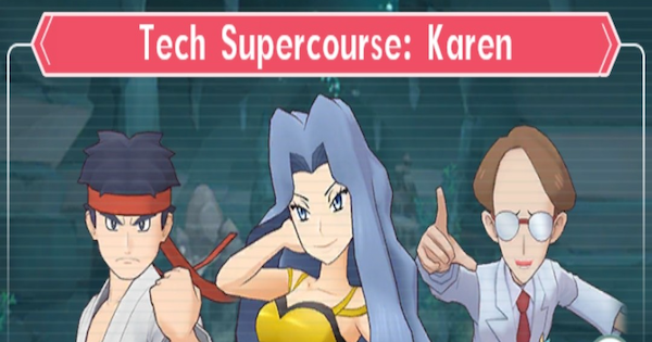 Tech Supercourse: Karen - How to Beat (Very Hard) - Pokemon Masters