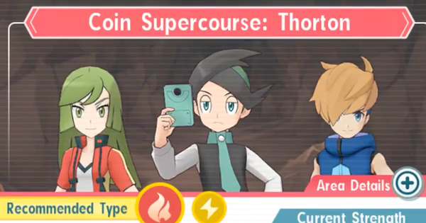 Pokemon Masters | Coin Supercourse: Thorton - How to Beat (Very Hard)