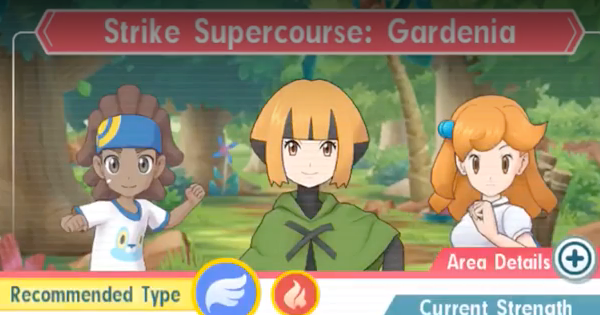 Pokemon Masters | Strike Supercourse: Gardenia - How to Beat (Very Hard)