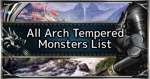 MHW: ICEBORNE | All Arch Tempered Monsters List