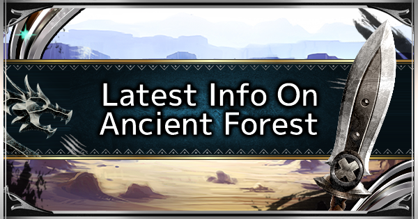 MHW: ICEBORNE | Ancient Forest - Map & Location - GameWith